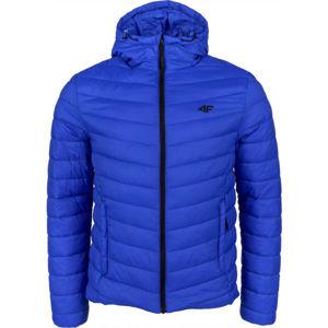 4F MEN´S JACKET tmavě modrá M - Pánská zimní bunda