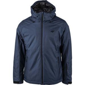 4F MEN´S SKI JACKET tmavě modrá L - Pánská lyžařská bunda