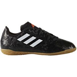 adidas CONQUISTO II IN J černá 5.5 - Dětská sálová obuv