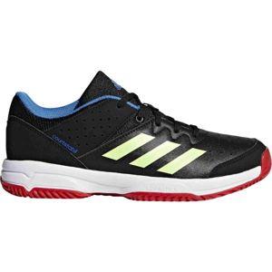 adidas COURT STABIL JR černá 5 - Juniorská házenkářská obuv