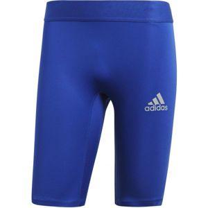 adidas ALPHASKIN SPORT SHORT TIGHTS  M modrá M - Pánské spodní trenky