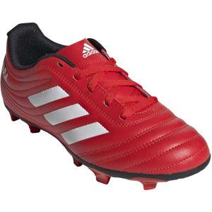 adidas COPA 20.4 FG J červená 4.5 - Dětské kopačky