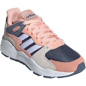 adidas CRAZYCHAOS J modrá 3.5 - Dětská volnočasová obuv