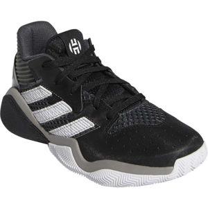 adidas HARDEN STEPBACK J černá 5.5 - Dětská basketbalová obuv