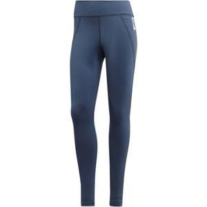 adidas W BB TIGHT modrá L - Dámské legíny