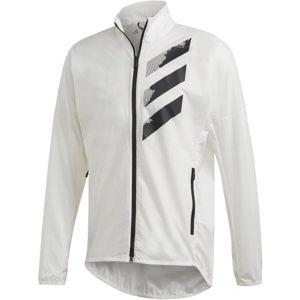 adidas AGR WIND J bílá 2XL - Pánská sportovní bunda