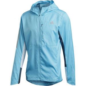 adidas OWN THE RUN JKT modrá S - Pánská běžecká bunda