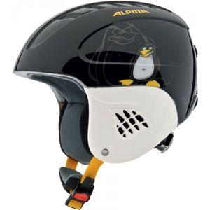 Alpina Sports CARAT černá (51 - 55) - Dětská lyžařská helma