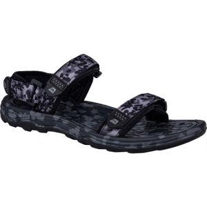 ALPINE PRO CALOS tmavě šedá 45 - Pánská letní obuv