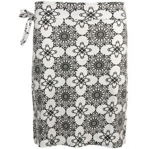 ALPINE PRO JAELA bílá M - Dámská sukně