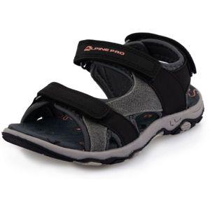 ALPINE PRO POPPIO černá 31 - Dětská letní obuv