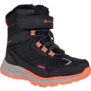 ALPINE PRO VESO černá 28 - Dětská zimní obuv