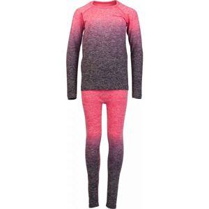 Arcore FEDOR růžová 128-134 - Dětské funkční termoprádlo
