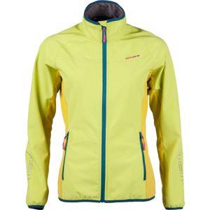 Arcore DARLING žlutá L - Dámská softshellová bunda