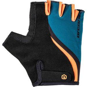 Arcore LEAF černá M - Letní cyklistické rukavice