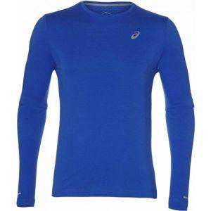 Asics SEAMLESS LS tmavě modrá M - Pánské sportovní triko