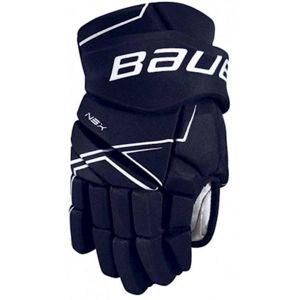 Bauer NSX GLOVES SR modrá 13 - Hokejové rukavice