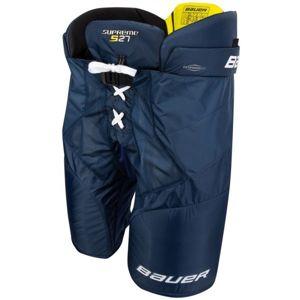 Bauer SUPREME S27 PANTS JR modrá L - Hokejové kalhoty