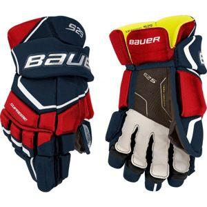 Bauer SUPREME S29 GLOVE JR červená 12 - Hokejové rukavice