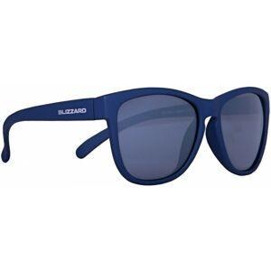 Blizzard RUBBER DARK BLUE POL tmavě modrá  - Polarizační sluneční brýle