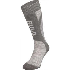Bula SMOKE SKI SOCKS modrá S - Lyžařské ponožky