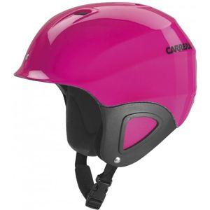 Carrera CJ-1 růžová (53 - 57) - Dětská sjezdová helma