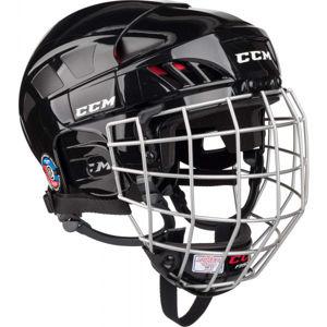 CCM FITLITE 50 COMBO SR BLK  M - Hokejová helma