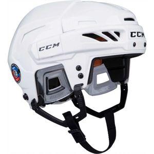CCM FITLITE 90 SR bílá (54 - 59) - Hokejová helma