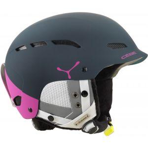 Cebe DUSK W tmavě modrá (52 - 55) - Dámská sjezdová helma