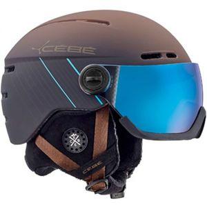 Cebe FIREBALL hnědá (54 - 56) - Unisex sjezdová helma