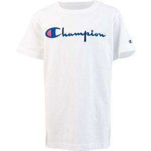 Champion CREWNECK T-SHIRT bílá S - Dámské triko
