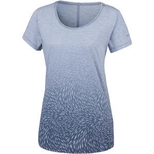 Columbia OCEAN FADE SHORT SLEEVE TEE modrá XL - Dámské triko