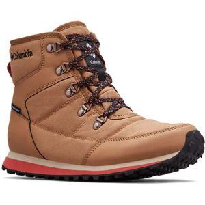 Columbia WHEATLEIGH SHORTY hnědá 8 - Dámská zimní obuv