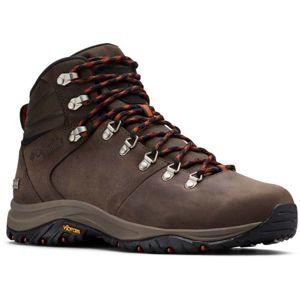 Columbia 100MW TITANIUM OUTDRY hnědá 7.5 - Pánské outdoorové boty