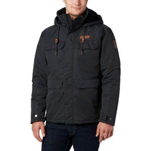 Columbia SOUTH CANYON LINED JACKET černá S - Pánská outdoorová bunda