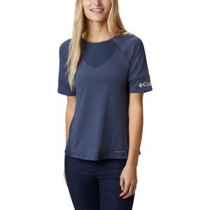 Columbia WINDGATES SS TEE modrá M - Dámské sportovní triko