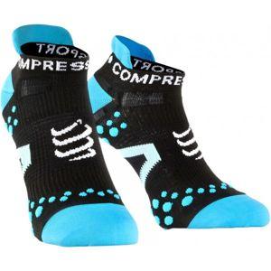 Compressport RUN LO V2.1 modrá T3 - Kompresní ponožky