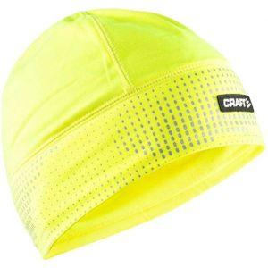 Craft BRILLIANT 2.0 CAP žlutá L/XL - Funkční běžecká čepice