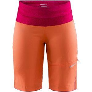 Craft VELO XT W oranžová S - Dámské volné cyklistické šortky