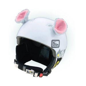 Crazy Ears MYŠKA šedá NS - Uši na helmu