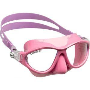 Cressi MOON JR MASK růžová NS - Juniorská potápěčská maska
