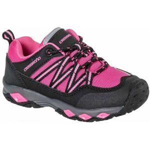 Crossroad CICERO růžová 27 - Dětská treková obuv