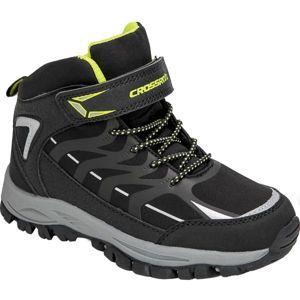 Crossroad DINEX černá 28 - Dětská treková obuv