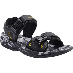 Crossroad MALACHI černá 43 - Pánské sandály