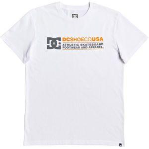 DC BUTAINER SS bílá L - Pánské tričko