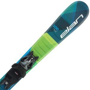 Elan MAXX QS + EL 4.5  100 - Chlapecké sjezdové lyže