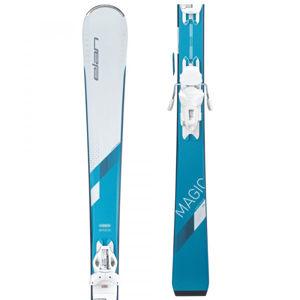 Elan WHITE MAGIC LS + ELW 9  140 - Dámské sjezdové lyže