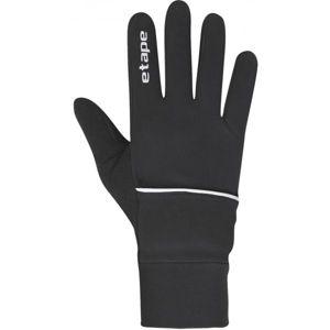Etape COVER WS+ černá S - Sportovní zateplené rukavice