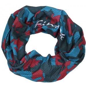 Finmark MULTIFUNKČNÍ ŠÁTEK tmavě modrá UNI - Multifunkční šátek