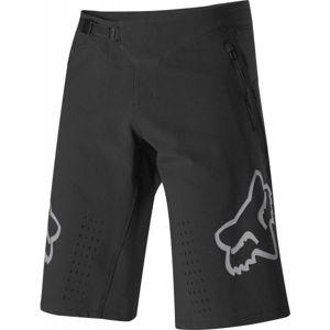 Fox DEFEND SHORT černá 34 - Pánské cyklo šortky